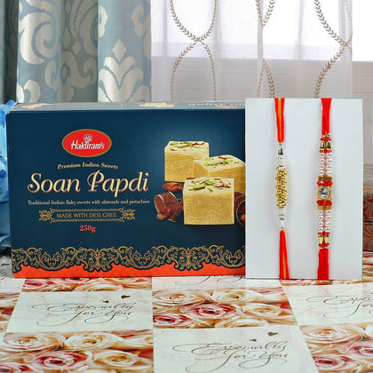 Amazing Rakhi Set Sweet Hamper To UK