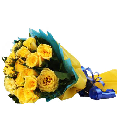 Yellow Delight Roses  - Expressluv.in