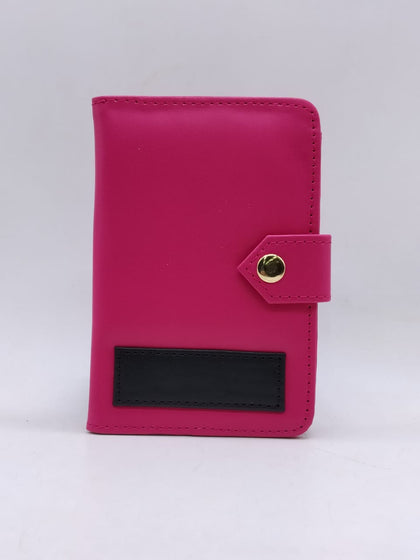 Dark Pink Color Passport Holder  - Expressluv.in