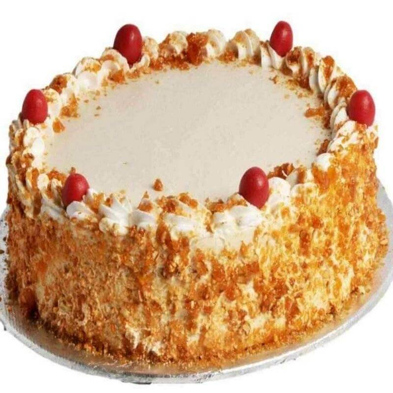 Butterscotch cake 500 grams
