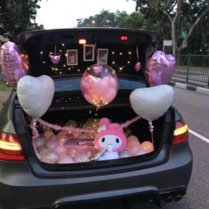 Birthday Surprise in Car