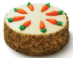 delicious Carrot design Cake gift/send someone special  - Expressluv.in