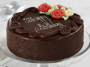 order delicious chocolate cake online with Expressluv