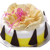 Pine Apple Flower Cake  - 1 KG