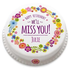 I miss you cake online delivery with Expressluv - Expressluv.in