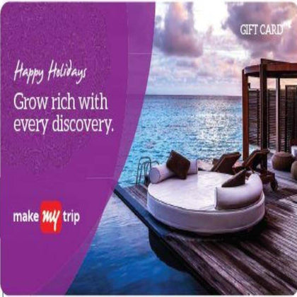 Holiday Packages Gift Card - Make My Trip