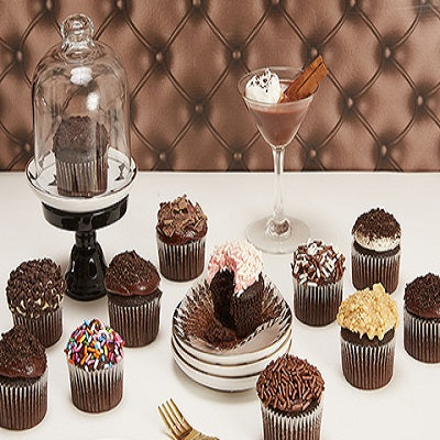 Mini Chocolate Lovers Cupcakes  - Expressluv.in