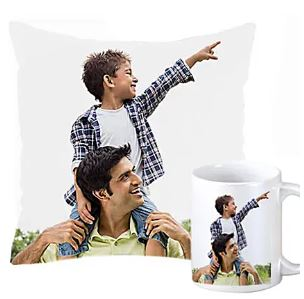 Combo Gift for Dad - Mug and Pillow