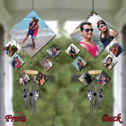 7 Square Wind Chime – 14 Pics , Personalised Gifting