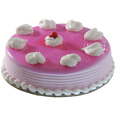 Strawberry cake - 500 Grams  - Expressluv.in