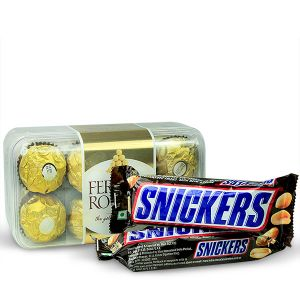Ferrero and Snickers