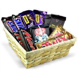 Best chocolate gift hamper for birthday online delivery