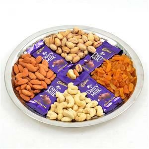dairy milk with 4 variety dry fruits online delivery, try with dry fruits and dairy milk