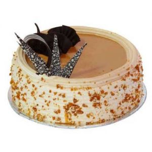 delicious butterscotch cake online delivery, send best butterscotch cake