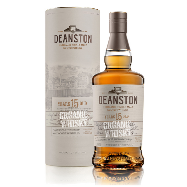 December 2018 - Stirling, Scotland - Deanston Organic 15YO