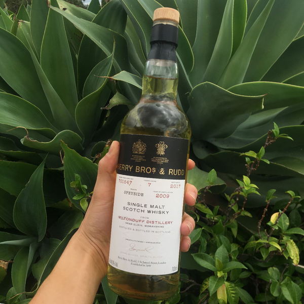 March 2019 - Miltonduff, Scotland - 2009 Miltonduff cask no.701547 Single Malt Scotch Whisky
