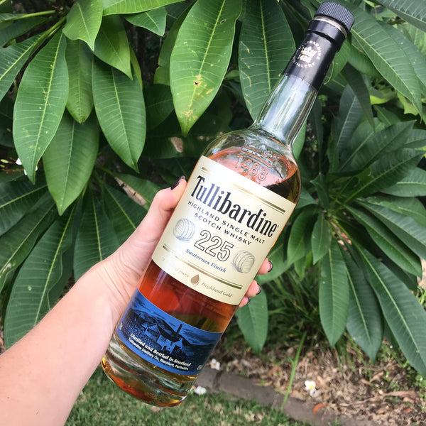 May 2019 - Blackford, Scotland - Tullibardine Highland Single Malt Sauternes Cask Finish