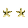 Gold Vermeil Starfish Earrings