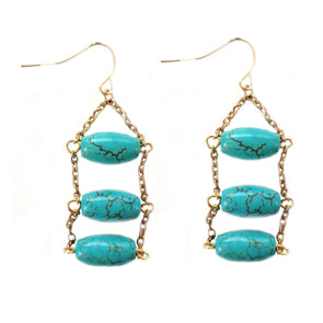 Mahara Turquoise Earrings