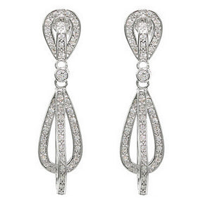 Pavè Swing Earrings