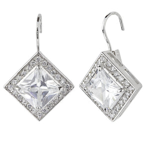 York Leverback Earrings