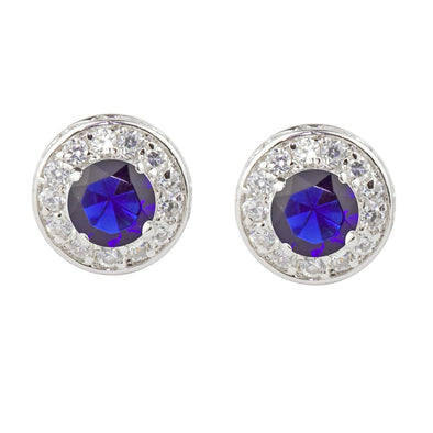 Aravis Earrings in Sapphire Blue
