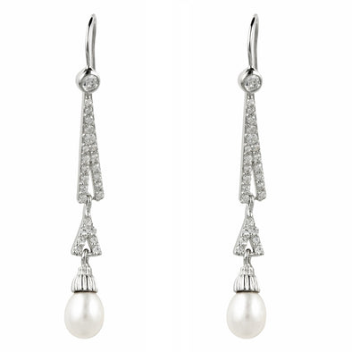Pippa Pearl Earrings