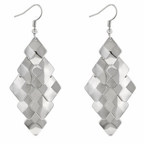 Silver Sway Earrings