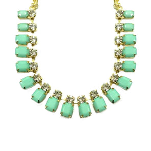 Gold Mint Necklace