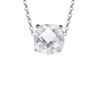 Portofino Cushion Cut Necklace