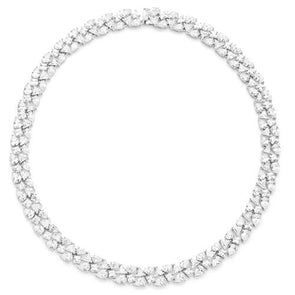Red Carpet Simulated Diamond Necklace