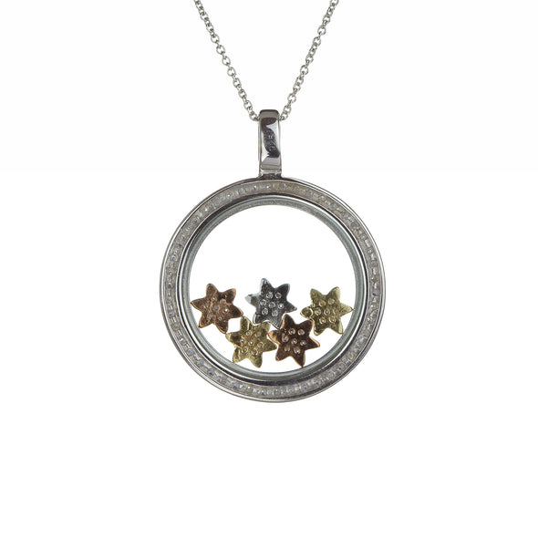 Floating Stars Necklace