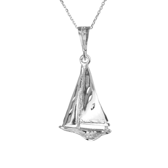 Sail Away Sailboat Necklace