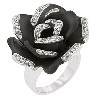 Lila Flower Ring
