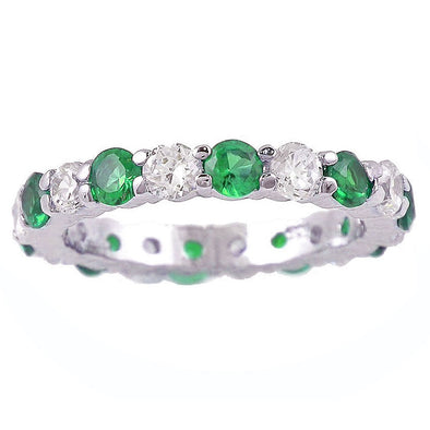 Emerald Green Celebration Ring