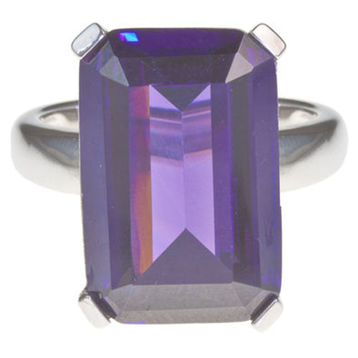 High Society Cocktail Ring in Amethyst