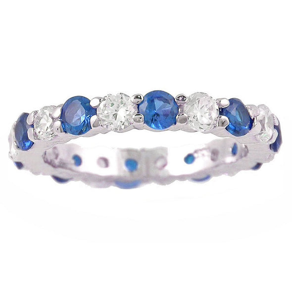 Celebration Ring in Sapphire Blue