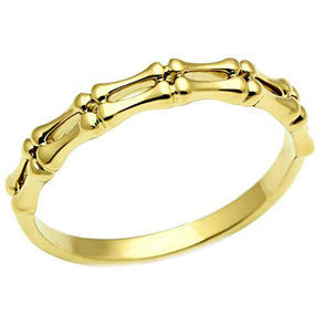 Bamboo Ring in Gold