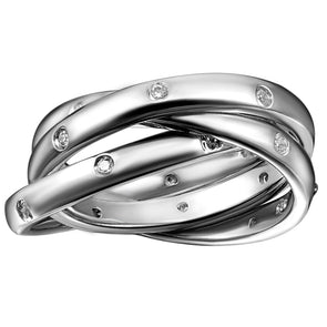 Etoile Interlocking Ring