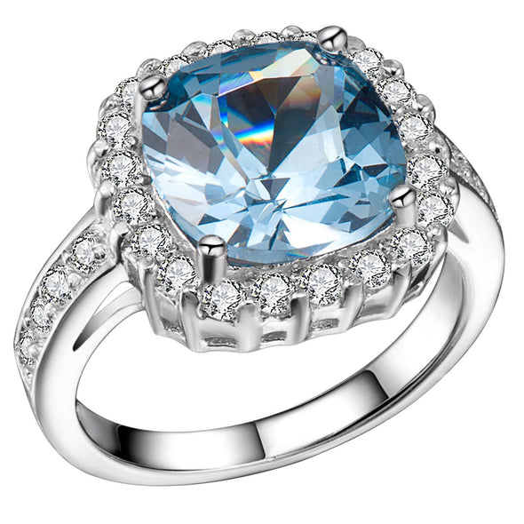 Martini Ring in Blue