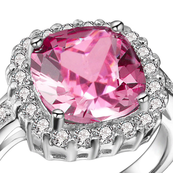 Martini Ring in Pink