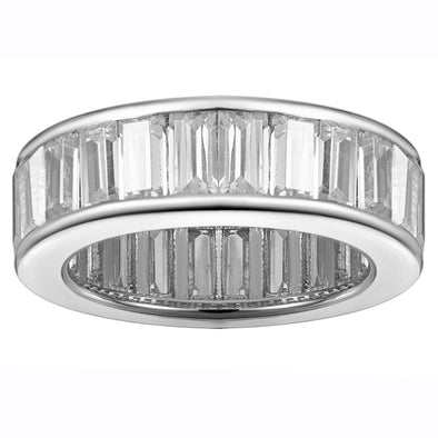 Billionaire's Baguette Ring