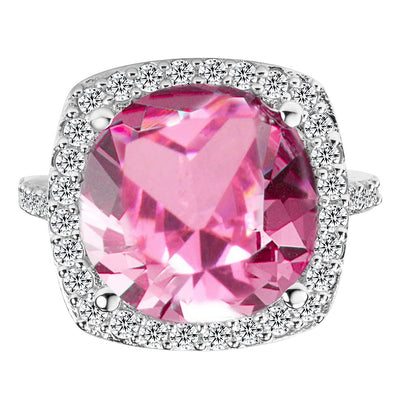 Georgia Cocktail Ring in Pink
