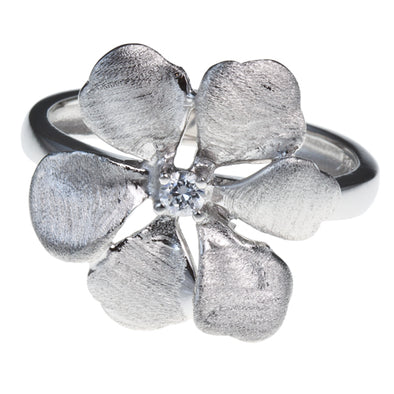 Pacific Sterling Silver Flower Ring