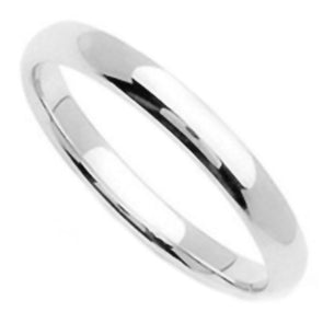 3mm Sterling Silver Band