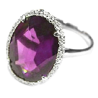Ella Ring in Amethyst