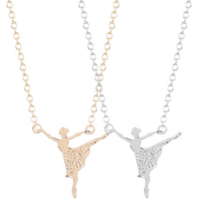 Ballerina Dance Necklace