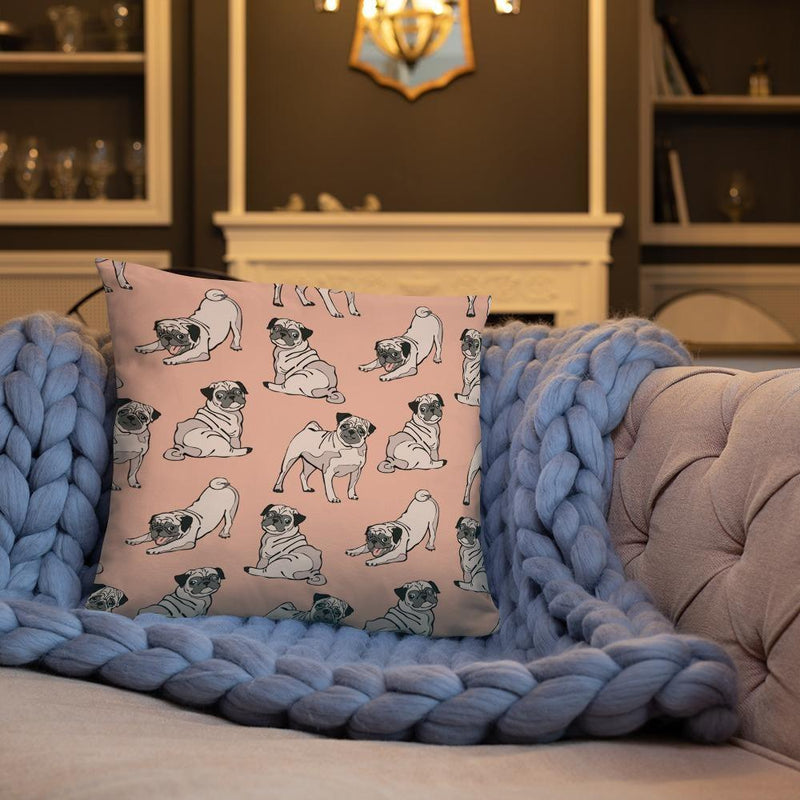 Crazy Pugs ~ Basic Pillow House PUGYOU