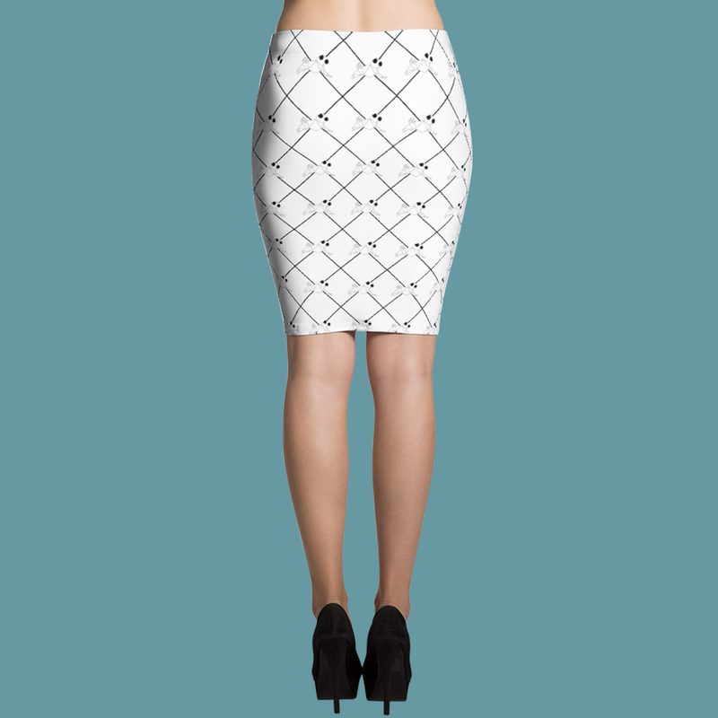 Graphic Pug Art ~ Pencil Skirt Clothes PUGYOU