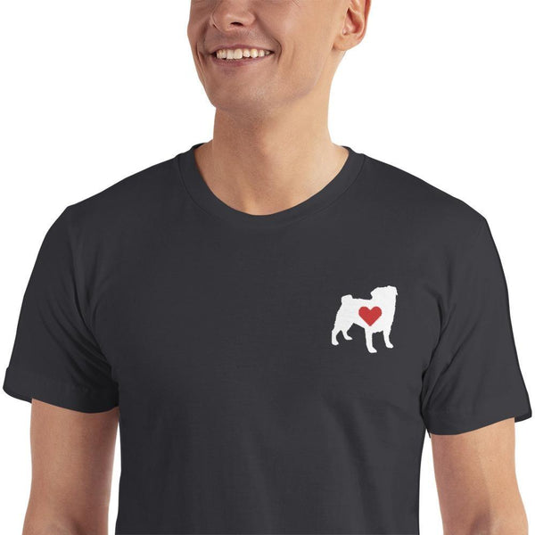 I Pug You ~ Embroidered T-Shirt Clothes PUGYOU